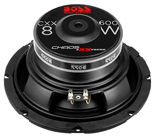 BOSS Audio CXX8 8 Inch Car Subwoofer - 600 Watts Maximum Power, Single 4 Ohm Voice Coil, Easy Mounting, Sold Individually by BOSS Audio Systems (Image #3)'