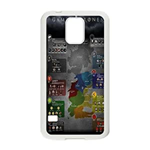 New Arrival game of thrones Hard Plastic phone Case for Samsung Galaxy S5 I9600 RCX094375
