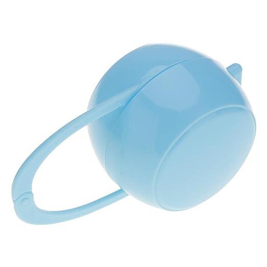 VANKER 1PC Portable Baby Soother chupete Maniquí Viaje Caja de almacenamiento de la caja -- Azul: Amazon.es: Bebé