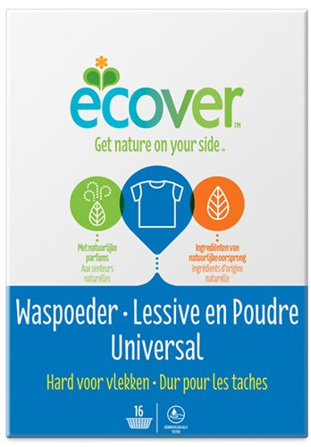 Ecover - Detergente ecológico biodegradable detergente en polvo ...