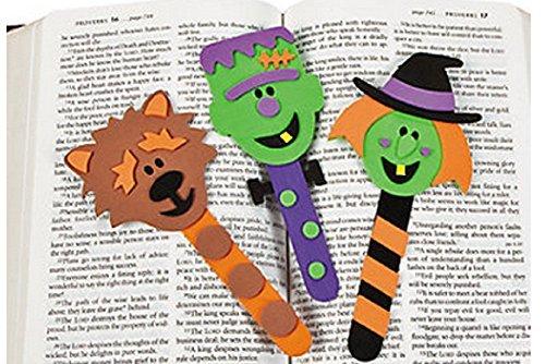 Halloween Character Bookmark Craft Kit (1 -
