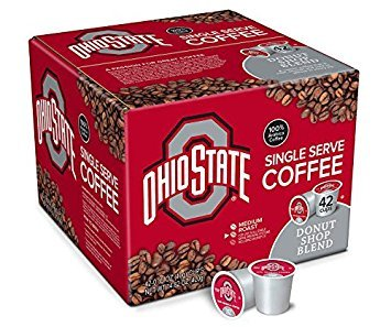 Ohio State Donut Shop Blend Single Serve Brew Cups, 42-Pack - Ohio State Beverage Buckeyes