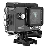 Original SJCAM SJ4000 WIFI Action Camera Sports DVR Water Resistant 30M Outdoor Camcorder Helmet Bicycle Motorcycle Camera Black - Come with 2 SJCAM Batteries