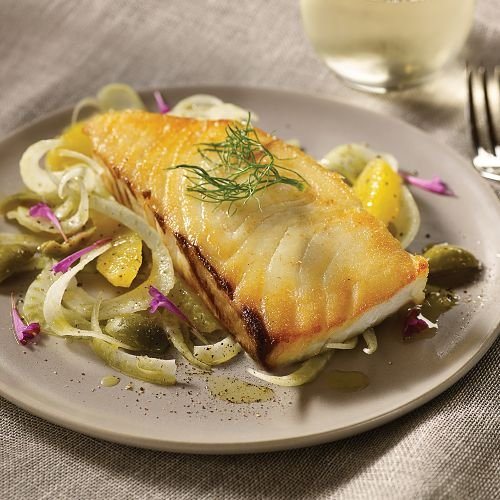 Omaha Steaks 4 (5 oz.) Halibut Steaks