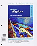 Beginning Algebra, Books a la Carte Edition 12th Edition