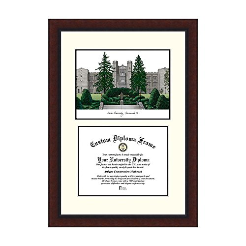 Campus Images NCAA Xavier University Legacy Scholar Frame by Campus Images