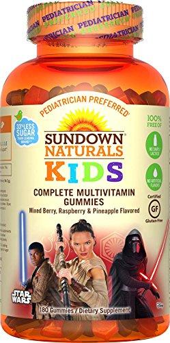Sundown Naturals Kids Star Wars Complete Multivitamin, 18...