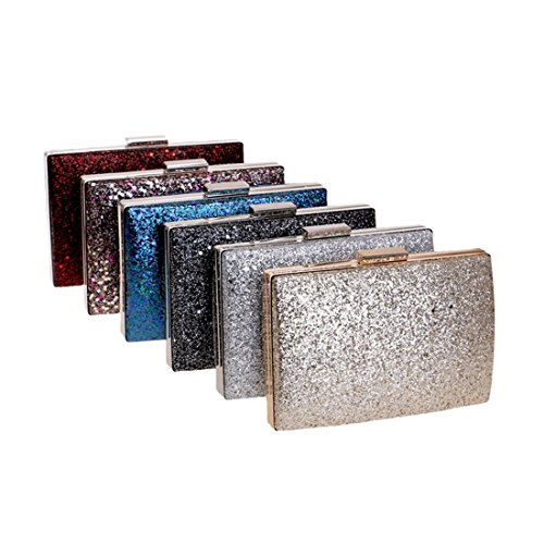 American New And evening red Fly Bag bag Sequin Evening Hand Fashion Rose European Color Ladies Black Bag Bag Evening Banquet BdwYSwx