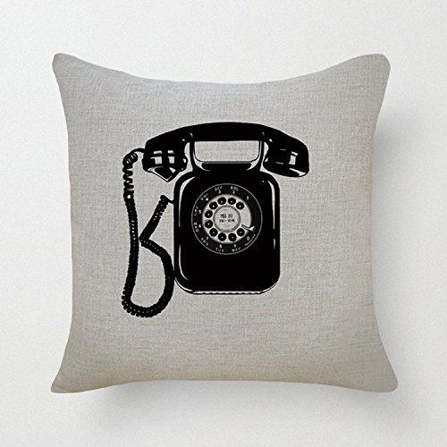 GraebnerSaleStore 18X 18inch Pastoral Style Cotton Linen Decorative Throw Pillow Cover Cushion Case iphone H:556