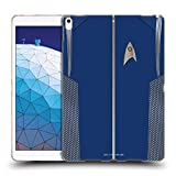 Official Star Trek Discovery Commander Uniforms Soft Gel Case Compatible for iPad Air (2019)