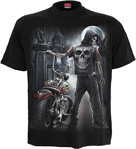 Halloween Horror Nights Commercial (Spiral - Mens - Night Church - T-Shirt Black -)