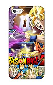 Emilia Moore's Shop Best 5055514K20930572 For Iphone Case, High Quality Dragon Ball Z: Battle Of Gods For Iphone 5/5s Cover Cases