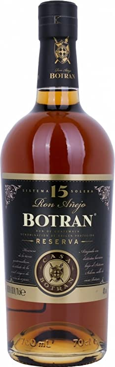 Botran Ron Añejo Reserva 15 Sistema Solera 40% - 700 ml