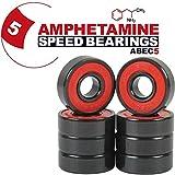 Amphetamine Abec 5 Skateboard Bearings