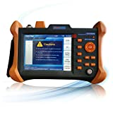 SPEEDWOLF 1310/1550nm 32/30dB OTDR 5.6inch Screen 120KM FTTH Fiber Optic Tester Tool with VFL