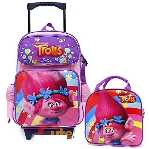 Trolls Removable Wheels Rolling Backpack product image