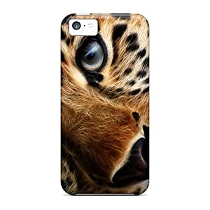 New Arrival Iphone 5c Case Lonesome Tiger Case Cover