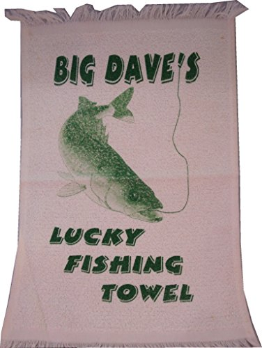 Leister Game & Novelty Company Big Dave's Lucky Fishing Towel ()