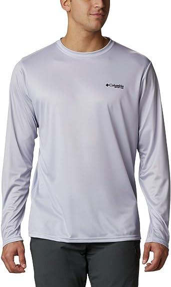 Columbia Mens PFG Terminal Tackle Long-Sleeve Shirt