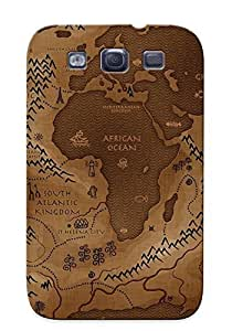 Catenaryoi Series Skin Case Cover Ikey Case For Galaxy S3(fantasy Map )