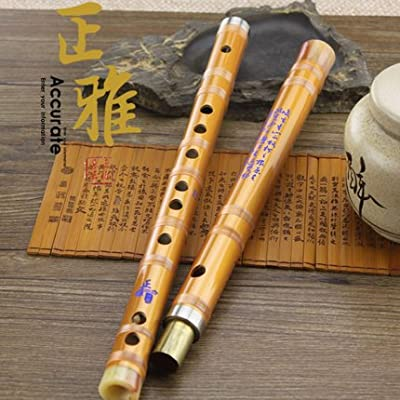 Pluggable Traditional Handmade Chinese Musical Instrument Bamboo Flute/dizi in G Key