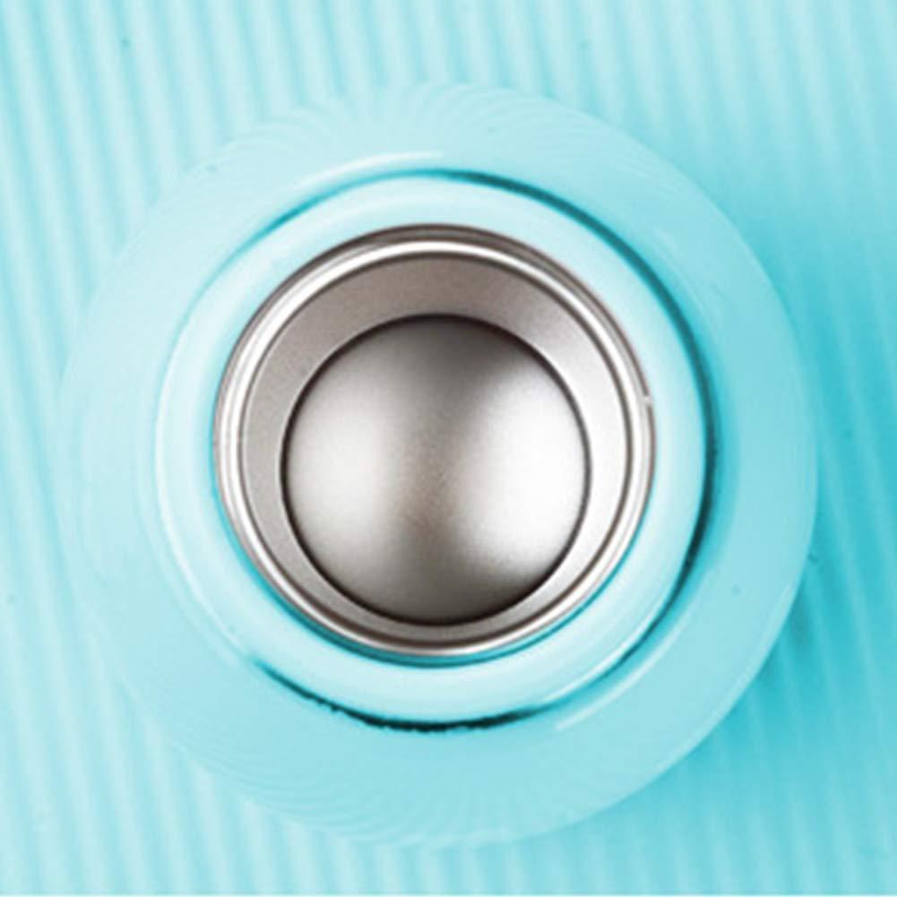 rojo termo con un anillo para llevar botella de agua a prueba de fugas taza de caf/é de acero inoxidable de doble pared con aislamiento al vac/ío 280 ml 200 ml Mini taza de viaje al vac/ío