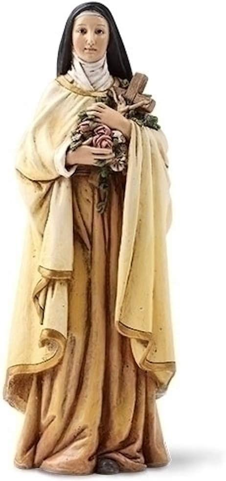 Religious Gifts 6 Inch Saint Therese Theresa Statue Little Flower Catholic Gift
