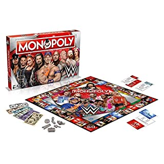 Monopoly WWE Board Game