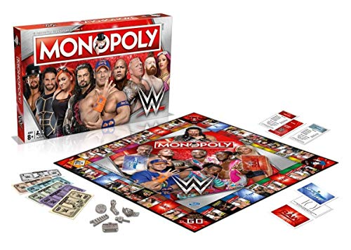 Winning Moves Games WWE Monopoly Board Game