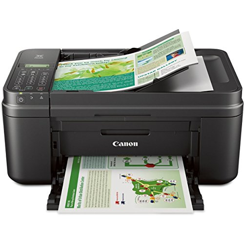 Canon MX492 BLACK Wireless All-IN-One Small Printer with Mobile or Tablet Printing, Airprint and...