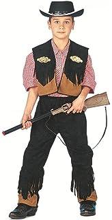 Kostüme & Verkleidungen Cowboy Kostüm für Kinder Gr S 128 cm Kinderkostüm Cowboykostüm Sheriff Western