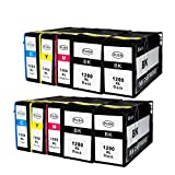 ink yield® Canon PGI-1200 XL BK/C/M/Y Compatible Pigment Ink Tank HY Replacement for Canon MAXIFY MB2320 MAXIFY MB2020 inkjet printer (4black,2cyan,2magenta,2yellow-10pk)