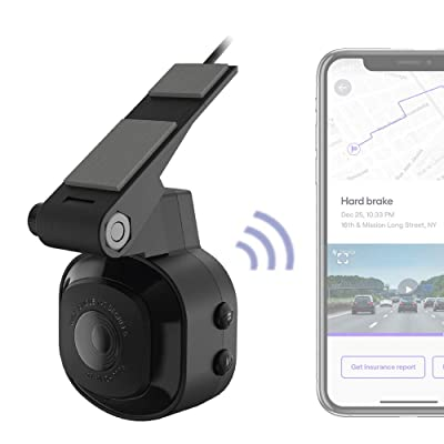 SCOSCHE NEXC10016-SP1 Full HD Smart Window Cam Powered by Nexar with Adhesive Mount and 16GB Micro-SD Card: Car Electronics