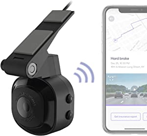 SCOSCHE NEXC10032-SP1 Full HD Smart Window Cam Powered by Nexar with Adhesive Mount and 32GB Micro-SD Card