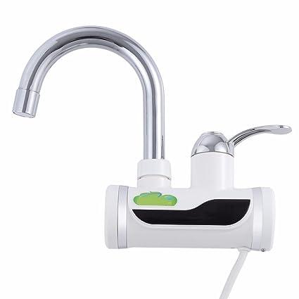 Ohcde Dheark Nueva Cocina Grifo Del Baño Calentador De Agua Eléctrico Ducha Lavabo Grifos De Agua