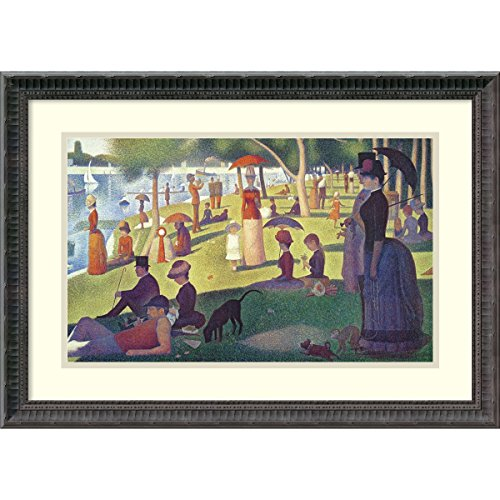 unday Afternoon on the Island of La Grande Jatte, 1884-1886' by Georges Seurat: Outer Size 24 x 17