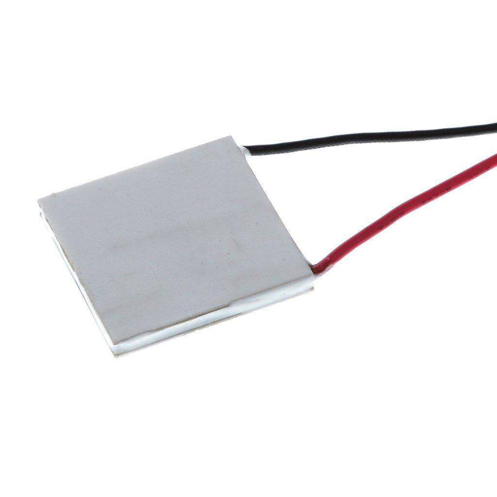 MagiDeal TEC1-199 Disipador Calor Delgado 50x50mm Refrigerador Termoel/éctrico Peltier Placa M/ódulo TEC1-19907