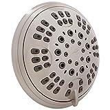 6 Function Luxury Shower Head - Amazing High Pressure, Wall...