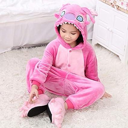 Pijama Unicornio Muchachas de los bebés Pijama de Franela ...