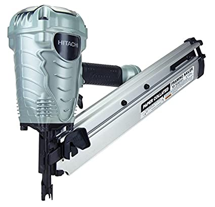 Hitachi NR90ADS1 2-Inch to 3-1/2-Inch Paper Collated Framing Nailer ...