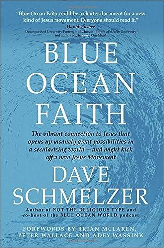 book report - Blue Ocean Faith by Dave Schmelzer (2017)