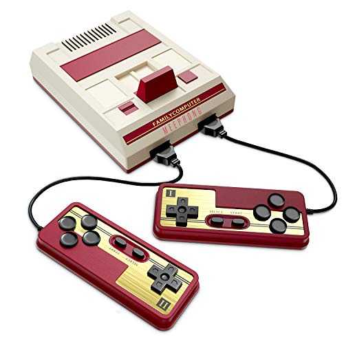MEEPHONG Retro Game Console, HDMI AV Classic Mini Game Consoles, Built-in Hundreds of NES Classic Video Games