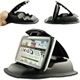"""ChargerCity Hippo Series Universal Portable Dashboard NonSlip Beanbag Friction Mount for Garmin Nuvi GPS & Drive DriveLuxe DriveSmart DriveAssist 50 55 60 65 GPS (Fit all 3.5"""" 4.3"""" 5"""" 6"""" GPS)"""