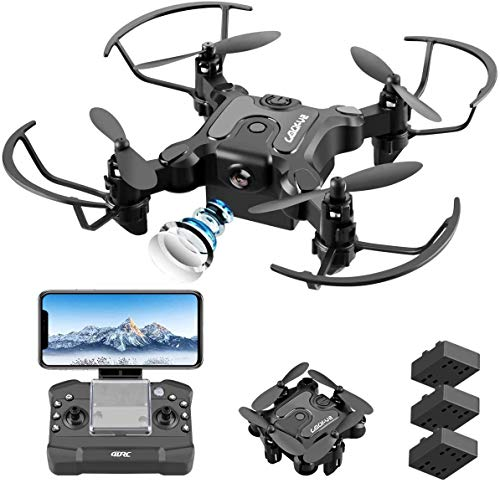 4DRC Mini Drone with 720p Camera for Kids and Adults, FPV Drone Beginners RC Foldable Live Video Quadcopter,App Control…