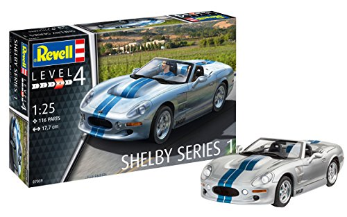 Revell RV07039 Shelby Series I Model kit, Various, 1:25 - Shelby 1 Series Model