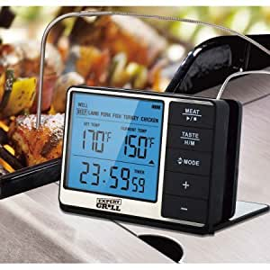 Amazon.com : Expert Grill Deluxe Grilling Thermometer ...