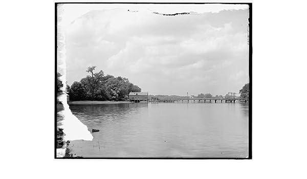 Amazon com: Infinite Photographs Photo: Sewall's Bridge, Country