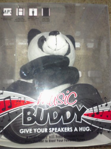 Music Buddy Speakers with Belly Pocket - Panda