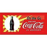 fine accent wall colours Trademark Fine Art On the Go by Coca-Cola 12x30-Inch