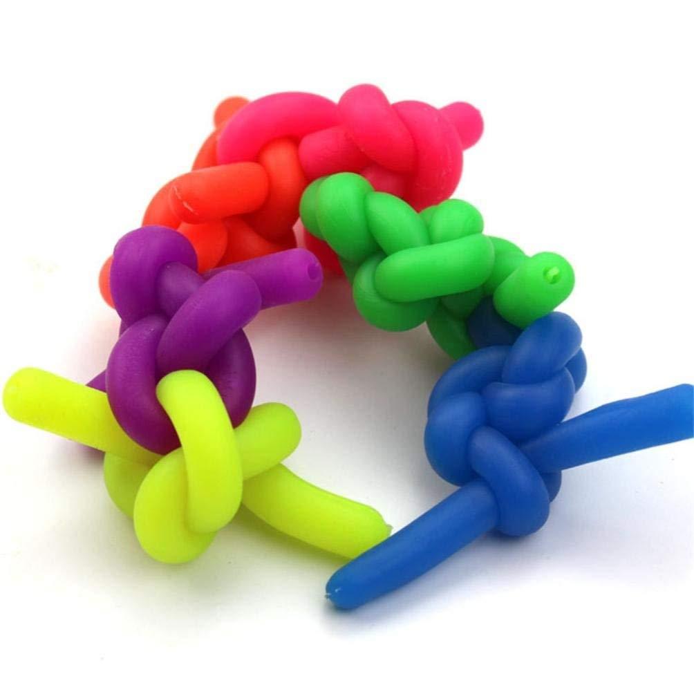 Arteki Colorful Sensory Fidget Stretch String Toys Helps Reduce Fidgeting Decompression Toys Practical